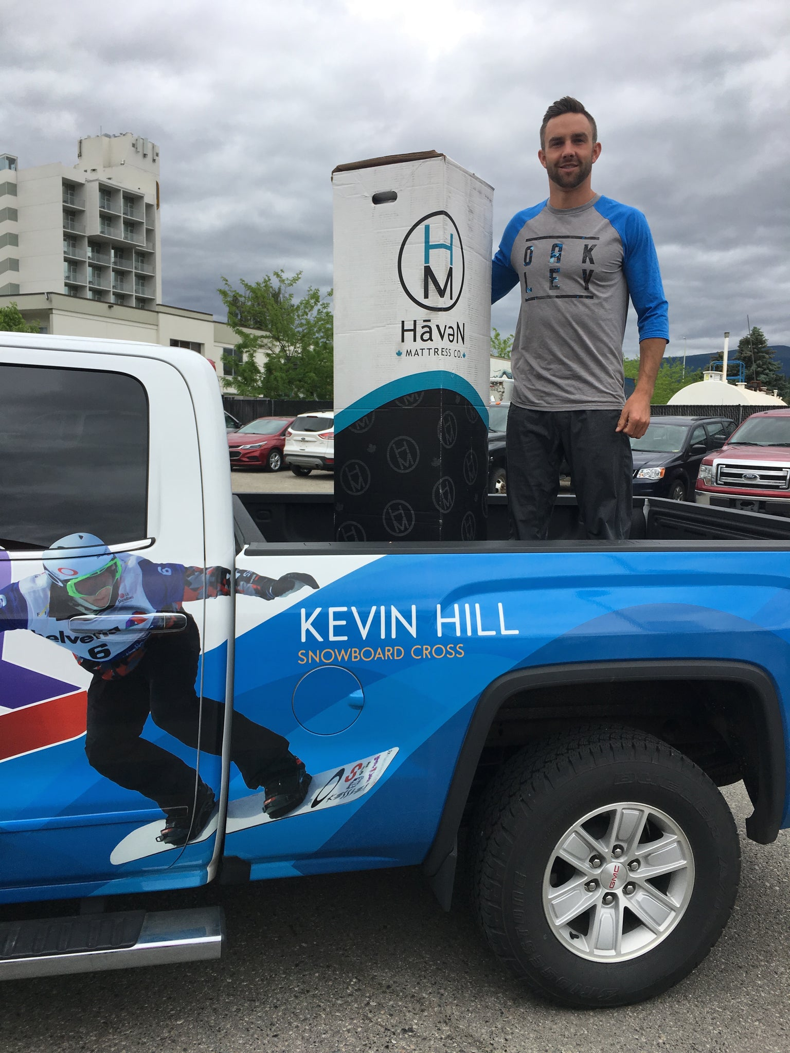Kevin Hill - Canadian Snowboarding Champion Rejuvenates on a Haven Mattress