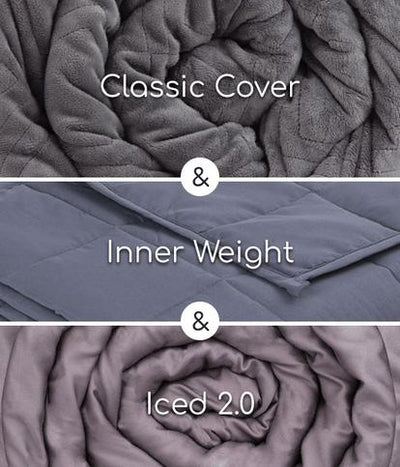 Hush All Season Weighted Blanket 2-in-1 Bundle