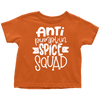 Anti Pumpkin Spice Squad - Funny Kid's Fall Tee