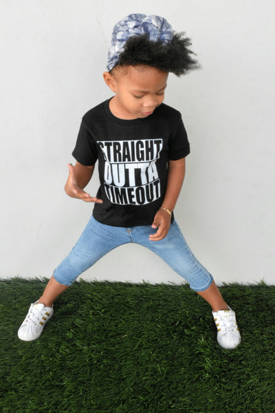 Straight Outta Timeout - Kids Tee
