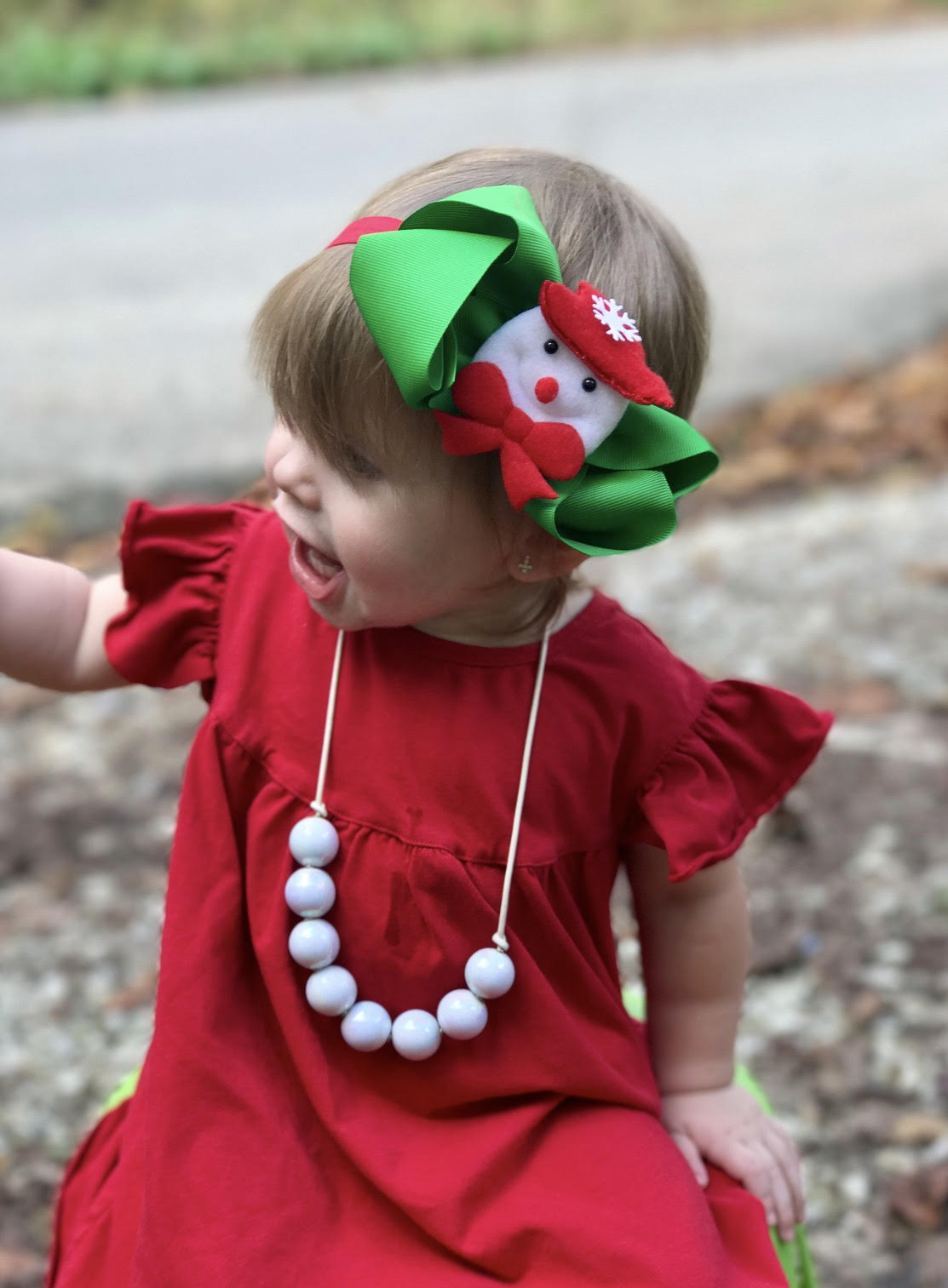 RTS Holiday Christmas Snowman Headband