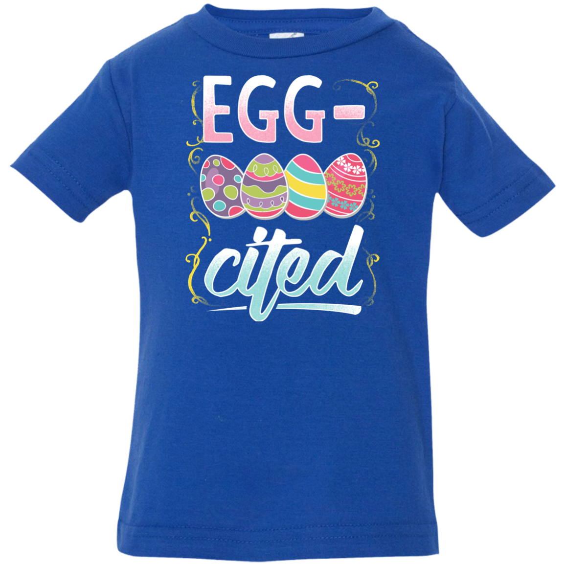 Egg-Cited Easter Eggs Kid's T-Shirt