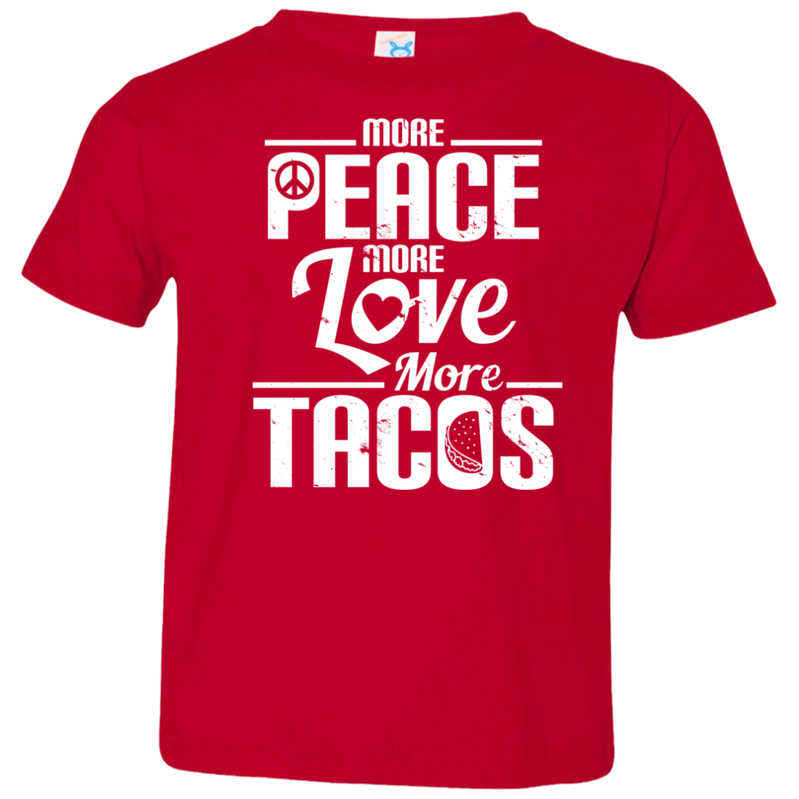 Peace Love Tacos Kids T-Shirt