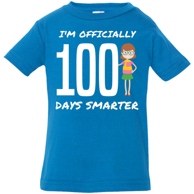 A Hundred Days Smarter - Kids School Tee
