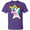Unicorn Dab - Adult Party Tee