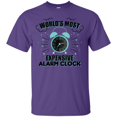 World's Most Expensive Alarm Clock 2 - Adult Parenting Tee