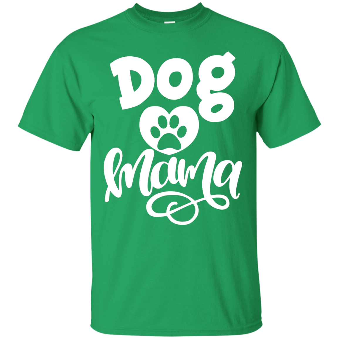 Dog Mama - Adult T-Shirt