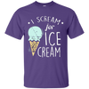 I Scream For Ice Cream 1 - Adult Summer Tee