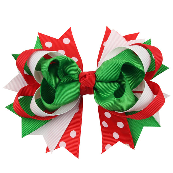 LIMITED Holiday Christmas Bow with Clip