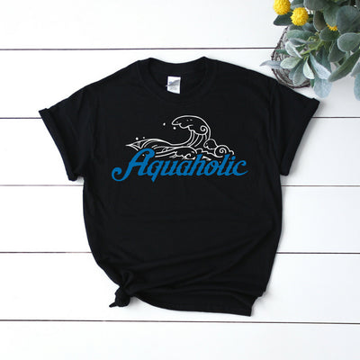Aquaholic 1 - Adult Summer Tee