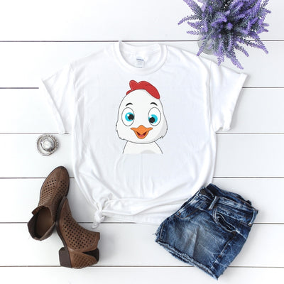 Crazy Chick Mama Hen Graphic - Funny Chicken Animal Adult Tee
