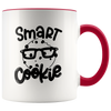 Smart Cookies - Funny Moody Morning Accent Mug