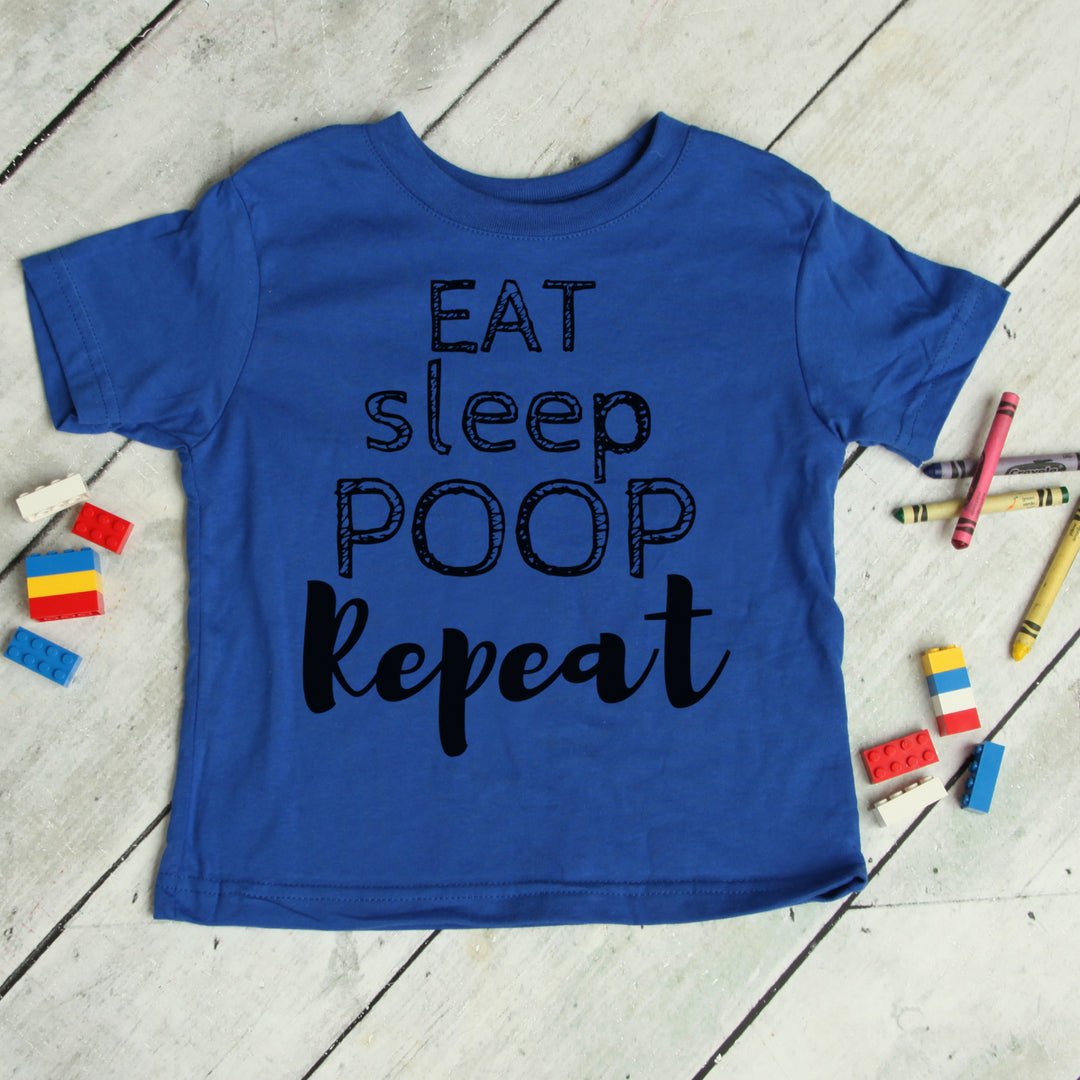 Eat Sleep Poop Repeat - Baby Tee
