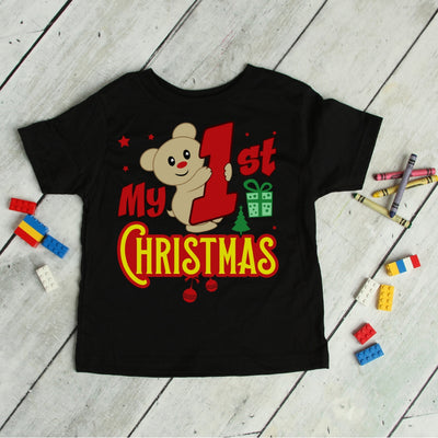 My First Christmas - Baby's Holiday Tee