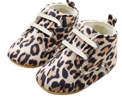 Leopard Suede Shoes