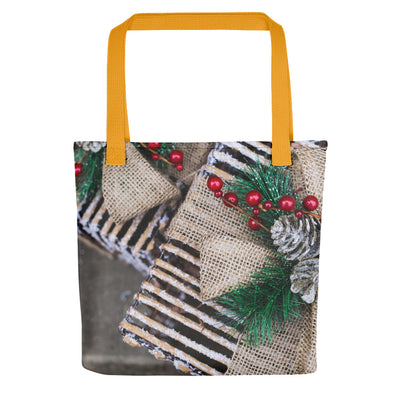 Christmas Gift Wrap - Holiday Tote Bag