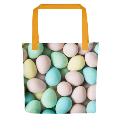 Easter Eggs Design - Easter Holiday Tote Bag