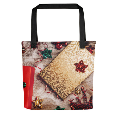 Holiday Wrapping Paper - Christmas Tote Bag
