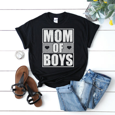 Mom of Boys 1 - Adult Parenting Tee