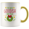 I've Been Goodish This Year 2 - Holiday Accent Mug