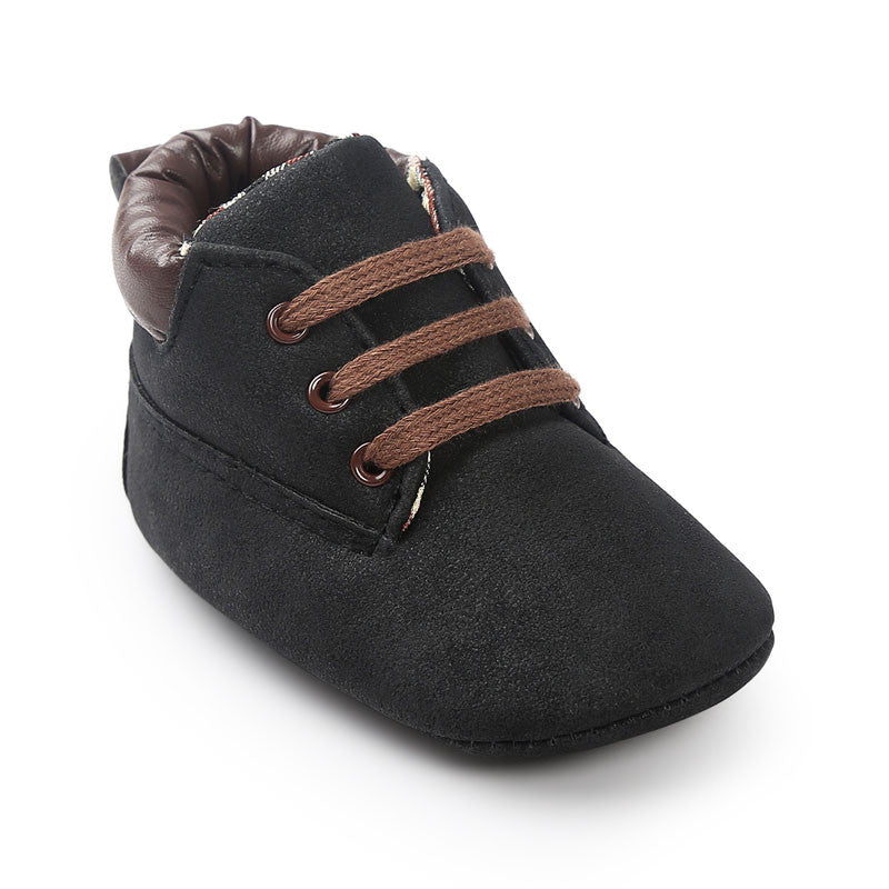 Suede Fashion Lace-Up Shoes - 12 Colors