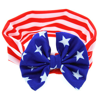 American Flag Headbands - 2 Designs
