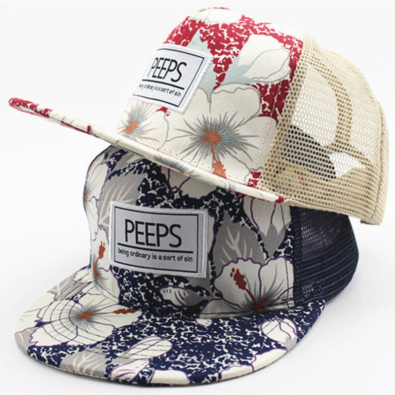 Kids Floral Snapbacks - 3 Designs