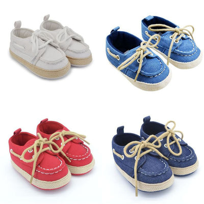 Baby Canvas Shoes - 4 Colors