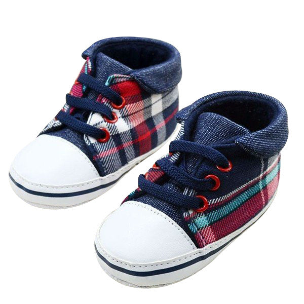 Plaid High Tops
