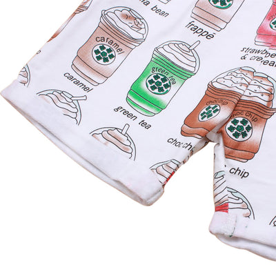 Coffee Flavors Shorts