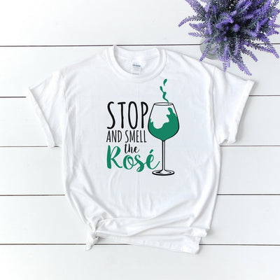 Stop And Smell The Rose 2 - Adult Tee