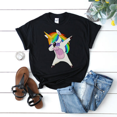 Amazon -  Unicorn Dab Party Tee