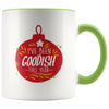 I've Been Goodish This Year - Holiday Accent Mug