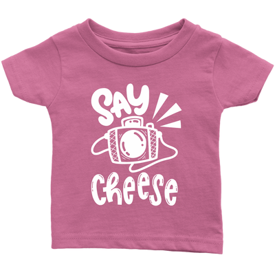 Say Cheese Funny Photo Kids Tee