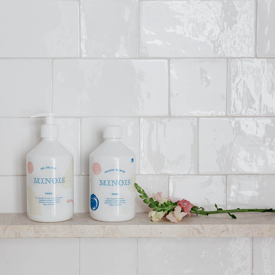 Minois - Bubble bath - Baby care - Zoenvoorgust.com