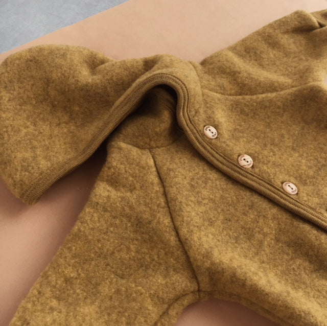 Engel - Wool hooded jacket - Mustard
