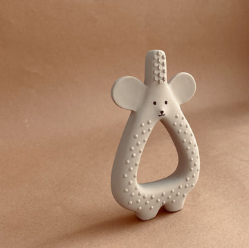 Konges Sløjd - Baby Teether - Natural Rubber