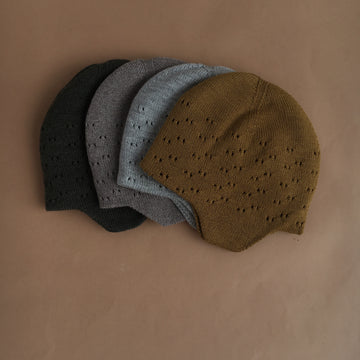 Hvid winter Hat - Dua - 4 colors