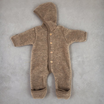 Engel - Wool overall - Walnut