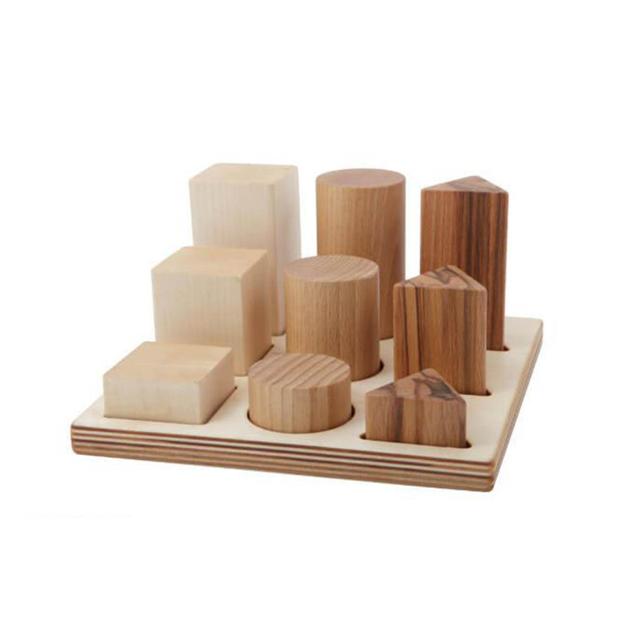 Wooden Story Natural Shape Sorter Board XL