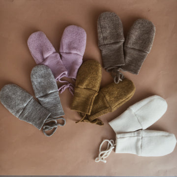Engel - Wool mittens - 4 colors