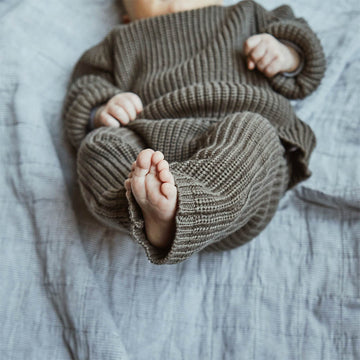 Knitted Baby Trousers - Handmade & Fairtrade