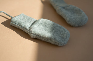 Engel - Wool mittens - Grey