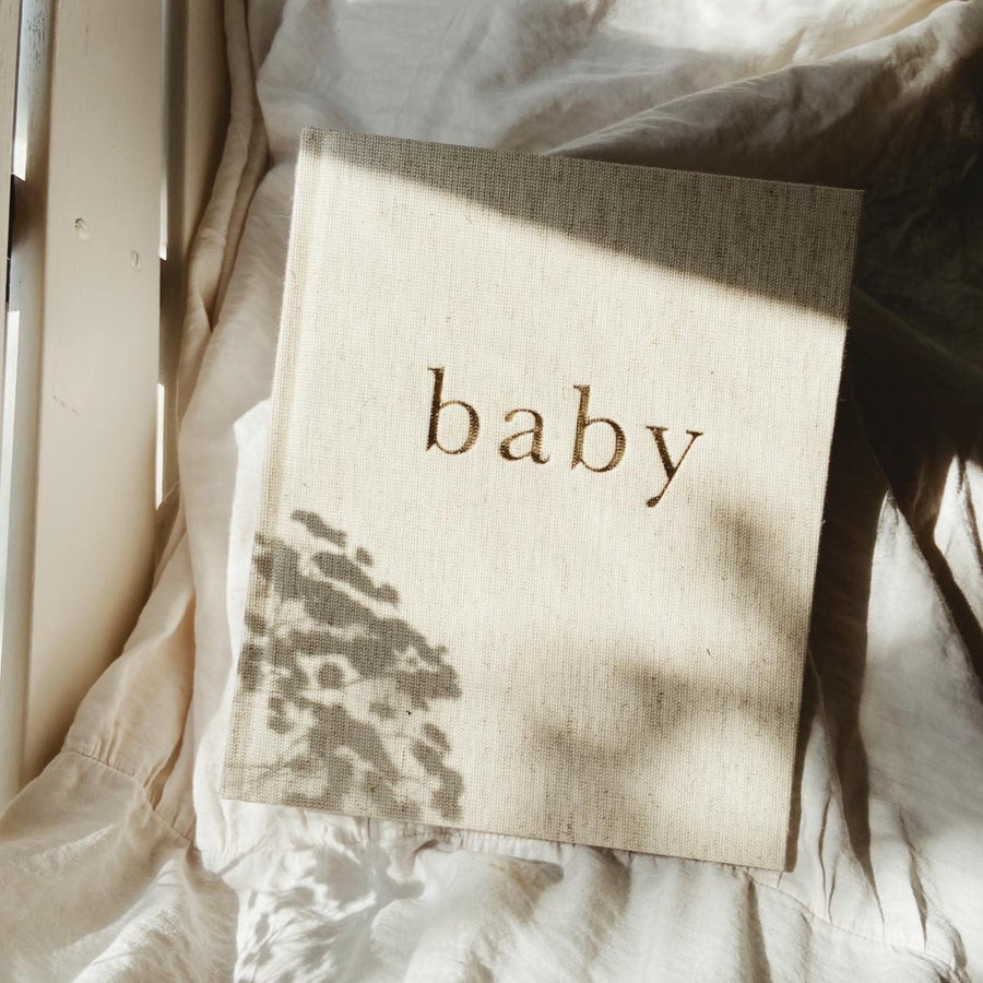 Write to me - Baby journal (boxed) - The first year of you