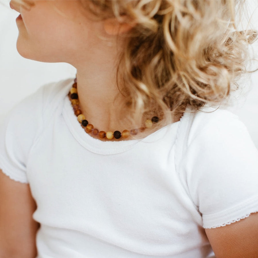 Amber Teether Necklace Zoenvoorgust