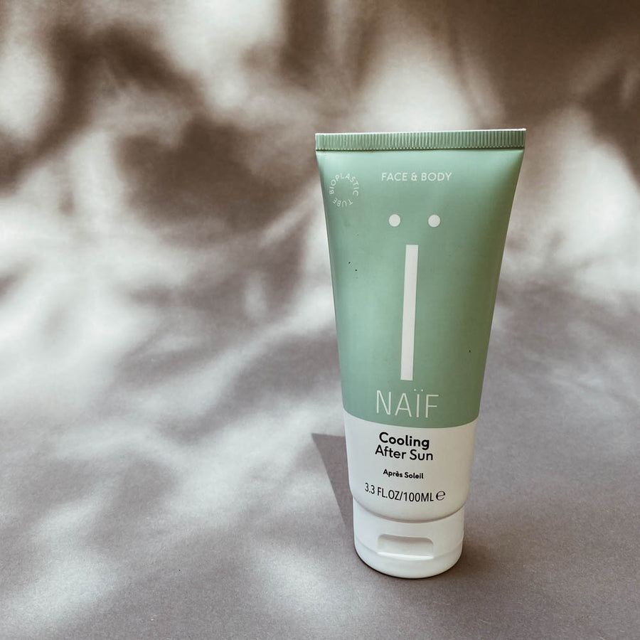 Naïf - Aftersun - Cooling - Baby care - Natural - Zoenvoorgust.com