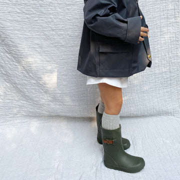 Bisgaard - Rubber Boots - Natural Rubber | Cotton Lining