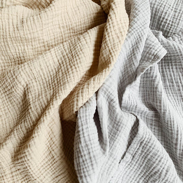 Lillé - Muslin swaddle - Handmade - More colors