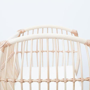 Bermbach Handcrafted -  Organic Cotton Crib Mattress White - Martha Crib (delivery time end of August)