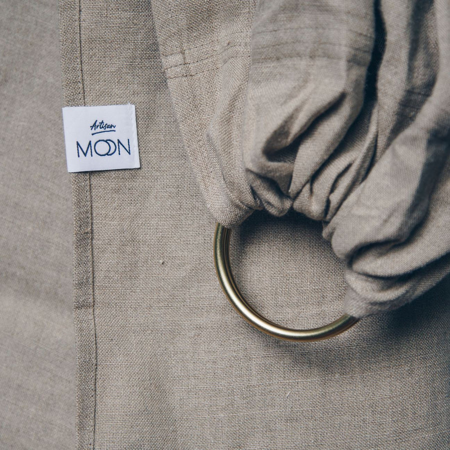Moonsling - 100% Masters of linen - Artisan Clay Moon